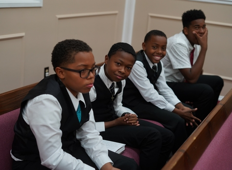 Youth Ushers at From the Heart of Los Angeles
